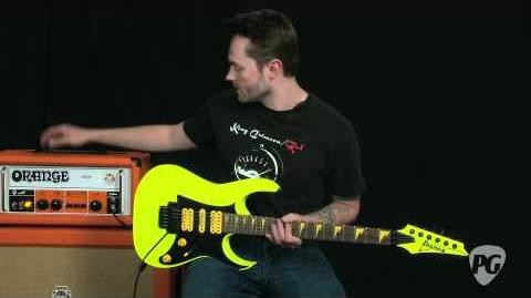 Video Review - Ibanez 25th Anniversary RG