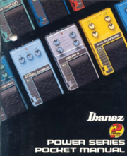 1986 Power Series Pocket Manual front-cover