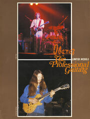 1976 Professional Guitars front-cover