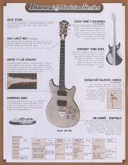 1978 Musician series dealer sheet