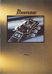 1979 Ibanez Japan catalog front-cover