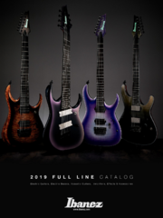 2019 Full Line catalog for Germany front-cover