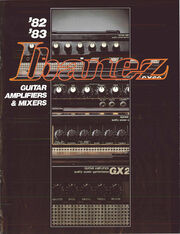 1982-83 Guitar Amplifiers Mixers front-cover