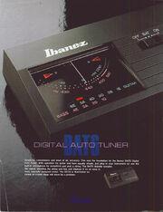1986 DAT6 tuner front