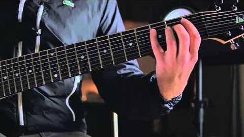 After The Burial's Justin Lowe demos the Ibanez RG90BKP