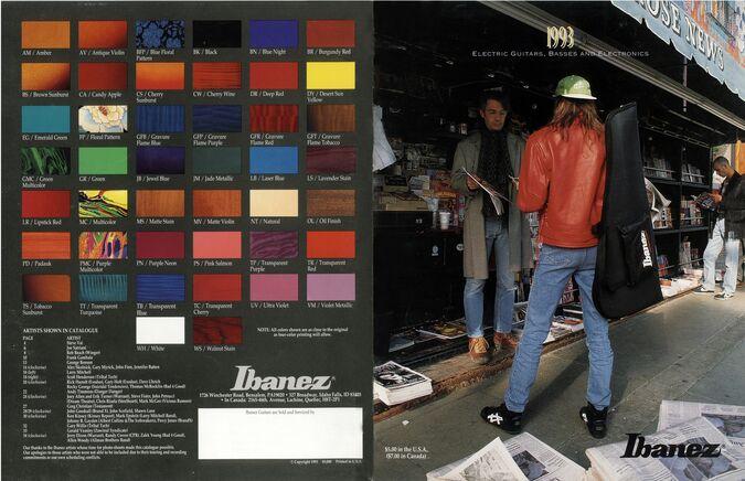 1993 USA catalog | Ibanez Wiki | FANDOM powered by Wikia Ibanez Sr B Wiring Schematic on