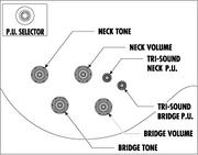 Controls 2V2T 3-way tri-sound
