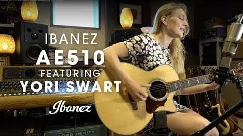 Ibanez AE510 Acoustic Guitar featuring Yori Swart
