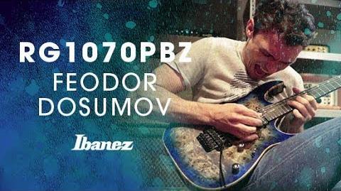 Ibanez Premium - RG1070PBZ featuring Feodor Dosumov