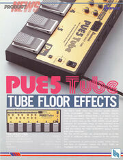 1991 PUE5 multi-effects flyer