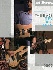 2007 USA electric bass catalog front-cover