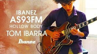 Ibanez Hollow Body AS93FM featuring Tom Ibarra