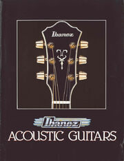 1981 Ibanez guitar catalog front-cover