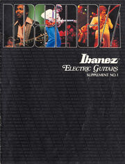 1979 Ibanez electric guitar supplement front-cover