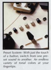 Preset switching system