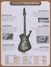 1978 Iceman series dealer sheet