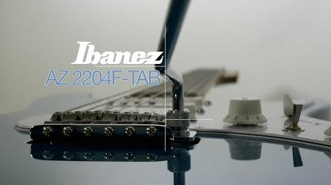 Ibanez 2018 AZ 2204F-TAB Playthrough