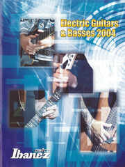 2004 GIO Ibanez Asia South America catalog cover