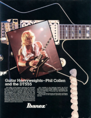 1985 Phil Collen and the DT555 p1