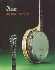 1975 Ibanez Artist Banjos front-cover