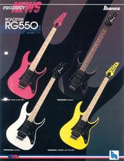 1987 RG550 dealer sheet front-cover