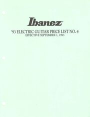 1993 Sept USA price list front-cover