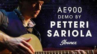 Ibanez Acoustic AE900 demo by Petteri Sariola