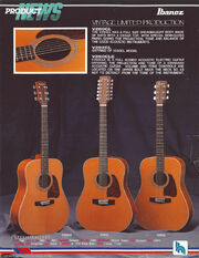 1990 Vintage limited production dealer sheet