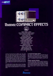 1986 Compact Effects brochure front-cover