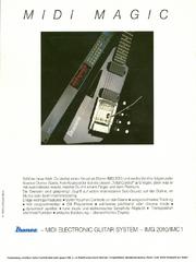 1986 Midi Magic IMG2010 dealer sheet