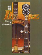 1982-83 Banjos Mandolins front-cover