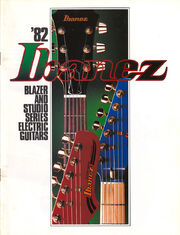 1982 Blazer-Studio catalog front-cover