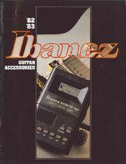 1982 Ibanez Guitar Accessories front-cover