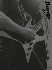 2007 Europe electric guitar catalog cover