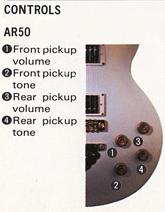 1982 AR50 controls
