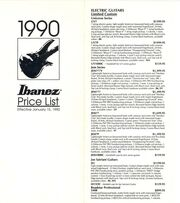 1990 Jan USA price list front-cover