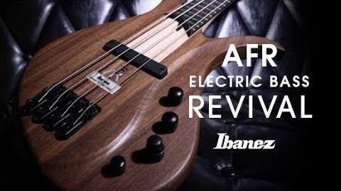 Ibanez AFR Bass featuring Dave Swift
