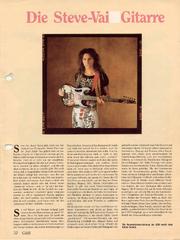 1989 Die Steve Vai Gitarre front-cover