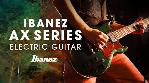 Ibanez AX Series Electric Guitar featuring Eat Defeat