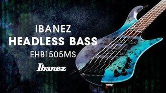Ibanez EHB1505MS Headless Bass featuring Franck Hermanny