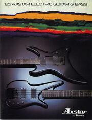 1985 Axstar catalog 2 cover