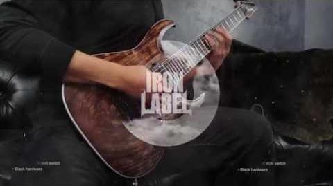 Ibanez RGA Iron Label - RGAIX6U RGAIX7U