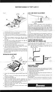 Ibanez Edge TopLokIII manual p3