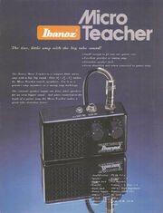 1979 Micro Teacher and IBZ Series front