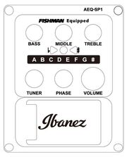 Ibanez AEQ-SP1 preamp diagram