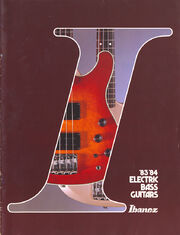 1983 Ibanez Bass front-cover