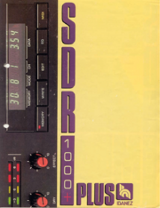 1987 SDR1000 Plus front-cover
