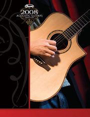 2008 USA acoustic catalog front-cover