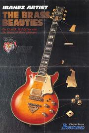 1981 Ibanez poster catalog p1