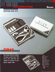 1987 Guitar-Aid kit dealer sheet